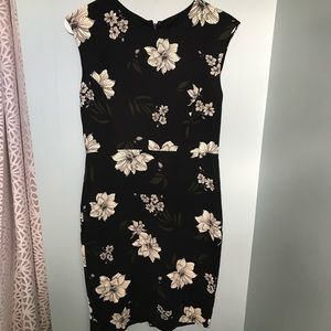 Brand new Floral black dress!